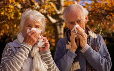 La gripe en las personas mayores